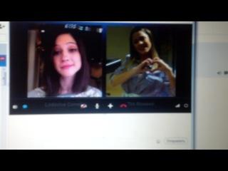 ����� � ���� � ���� / Skype con Lodo y Tini